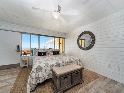 Photo for New! Upscale beachfront ground-floor walk out studio - steps to the water, WiFi!