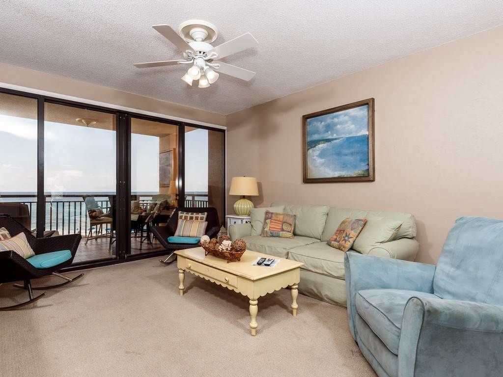 Upscale 2 Bedroom Condo 405 At Navarre Towers Full Beach View
