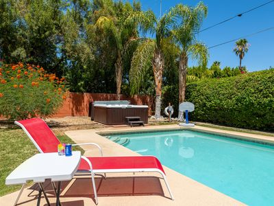 Photo for Quite and gourgous 4BR/3BA house in Movie Colony. Private Pool, Hot Tub,