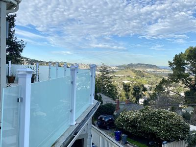 """Photo for Secluded 7 decks, large fam ok, SF HILLS+GARDEN w-A/C """"Sanitized"""" 31 day rental"""