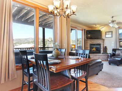 Photo for Mount Cirrus 10B - 2 Br condo with private hot tub, Marys Lake and mountain views