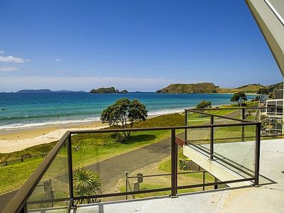 Photo for Beachfront Beauty - Opito Bay Holiday Home