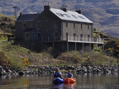 Photo for Luxury loch-side house, stunning views, for family and activity Holidays.j