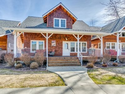 Photo for Vacation rental house. Sleeps 10, 2 bed, 1 loft, 2 bath, Dogs allowed.
