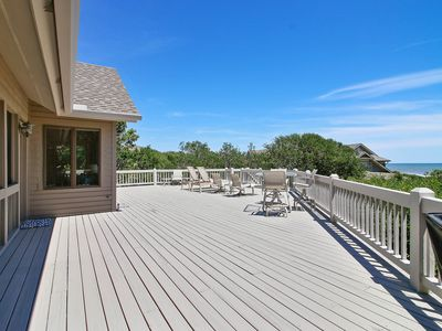 Photo for NEW LISTING! Luxury oceanfront home w/deck space, great views & beach access