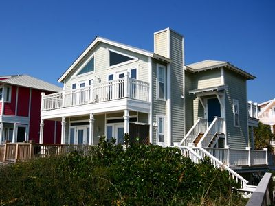 Photo for Fabulous Gulf Front Home, Gated neighborhood, Double porches, Santa Rosa Beach