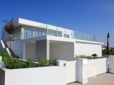 Photo for CASA BLANCA, luxury villa with sea views, modern equipment and technology