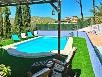Photo for Apartment On Ground Floor Of Villa With Own Large Sun Terrace, Swimming pool
