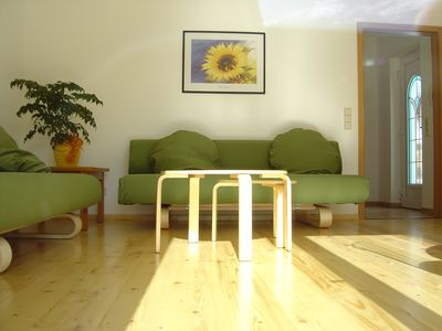 Photo for Near Berlin, 2 bedroom apartment, max. 4 people + child / baby, 400m from the lake