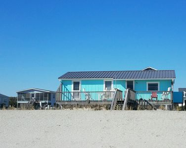 Back of home facing beach