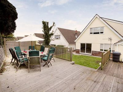 Photo for A beautiful detached holiday home in Thistleboon, Mumbles, within walking distance of the beaches at