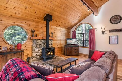 Living Area - Welcome to Truckee! Your rental is professionally managed by TurnKey Vacation Rentals.