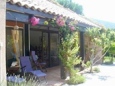 Photo for Charming villa by the sea - Palombaggia beach