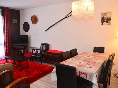 Photo for 66m2 apartment, 8 people at the foot of the slopes