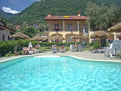 Photo for 2 bedroom Apartment, sleeps 8 with Pool, FREE WiFi and Walk to Beach & Shops