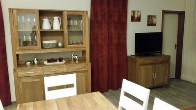 Photo for Cozy apartment right on the edge of the forest. Family and dog friendly Wi-Fi
