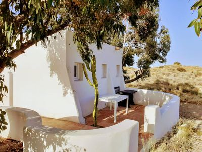 Photo for LOVELY ECO-CABIN 5' FROM BEACH IN CABO DE GATA NATURAL PARK