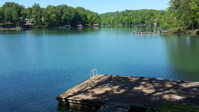 Private dock to tie boat up