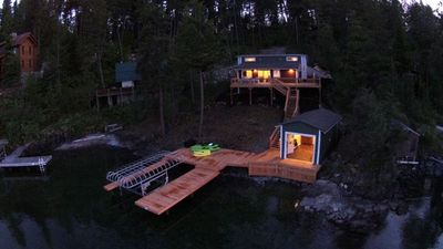 Photo for Lake House with Sauna, kayaks, S.U.P.'s, snorkeling sets and boat parking