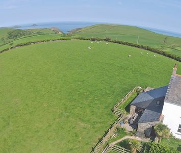 Photo for Quiet Location,Sea views,10 Min walk to PortQuin Between Port Isaac and Polzeath