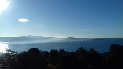 Photo for Cote d azur Bandol, magnificent view, plsges 300m and center on foot, idleness!