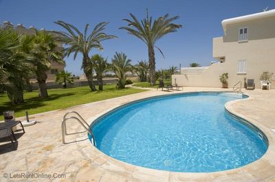 Ioannis Gardens, Tomb of The Kings, Paphos - Pool, Palm Trees and Sea Views