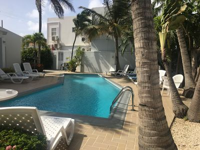 Photo for Studio with pool view a few minutes from Eagle Beach in Aruba!