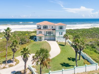 Photo for Immaculate 4BR Oceanfront Home w/ 2 Master Suites, Private Pool & 3 Balconies