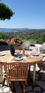 Photo for Beautiful gulf StTropez Mazet garden, private area (swimming pools, tennis)