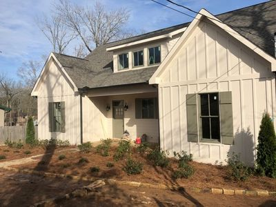 Photo for NEW CONSTRUCTION! Lakefront house, Sleeps 16, LOTS OF PARKING SPACE