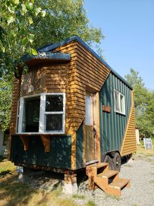 Photo for Emerald Lodge - A tiny house nestled deep in the woods and mountains of WA