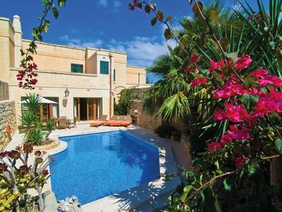 Photo for Ta Menzja - Luxurious house with pool and air conditioning for max. 6 persons