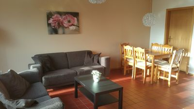 Photo for Freiblick Type B with panoramic views Dollard, child friendly, terrace