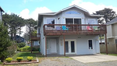 Photo for Beautiful oceanview beachhouse, Family Friendly,1/2 blk from beach.