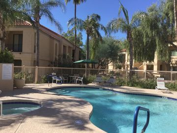 "Relax anytime of the  the year at ""Racquet Club Resort in Scottsdale Ranch!"""
