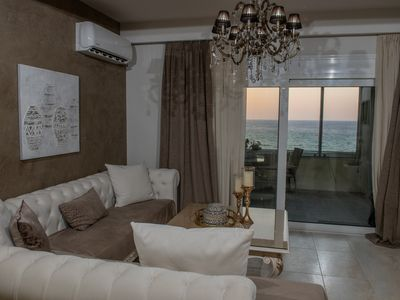 Photo for Modern apartment, Sea view balcony, 50m from the sea, Next to All Amenities