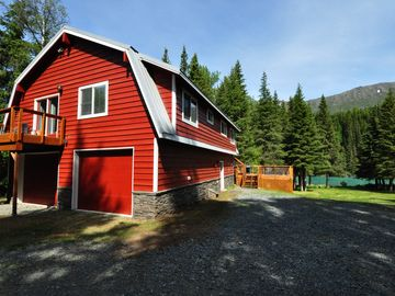 Beau The Bear Den   Private 1 Acre Upper Kenai Riverfront Home   Cooper Landing