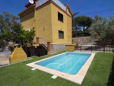 Photo for Catalunya Casas: Super Airesol C villa for 8-9 guests with a private, secure pool!
