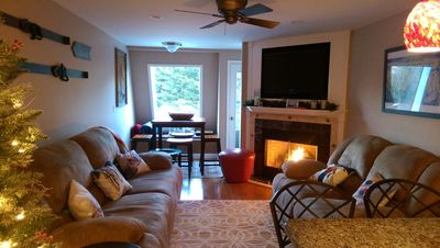 Photo for Cozy Snowshoe Retreat! 2BR/2BA Ski-out condo.  LATE SEASON, 3rd night FREE!!!!