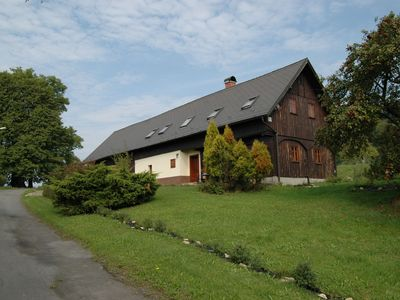 Photo for Spacious house on the southern slope of the Ještěd peak, only 1 km from the golf course