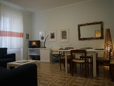 Photo for Cappone apartment in Alghero with WiFi & air conditioning.