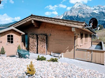 Photo for Cozy Scenic Family Chalet Gstaad & Glacier 3000