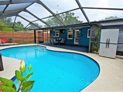 Photo for House with a pool, close to beach