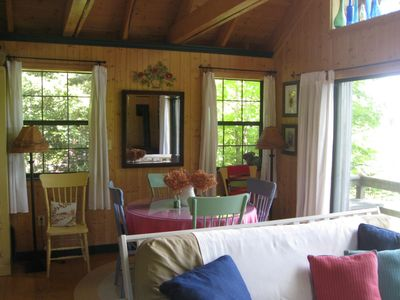 Photo for The Vermont Mountain Top Cabin
