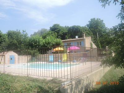 Photo for house with private pool for 6 people between Mont Ventoux and Luberon in Sault