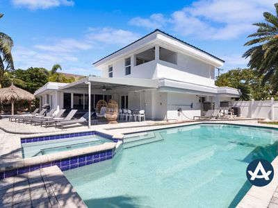 Photo for Sextant | Waterfront Villa | Heated Pool on the Intracoastal | 10 mins to Beach