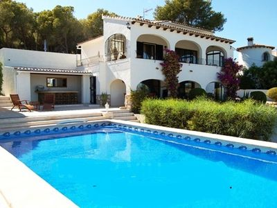 Photo for Very nice villa for 6 people with private pool in Moraira.