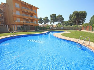 Photo for Maria: Apartment with communal pool and garden