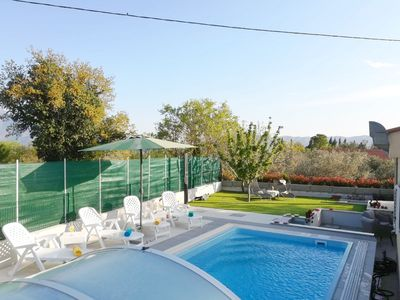 Photo for Cozy Family Villa With Private Swimming Pool, Grill and Garage