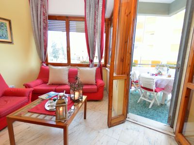 Photo for Beautiful apartment for 6 people with internet, TV, terrace and parking